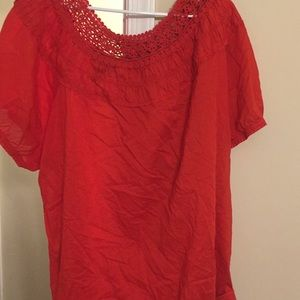 Lame Bryant blouse